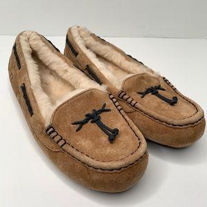 UGG Brett Wool Lined Slipper Size 10